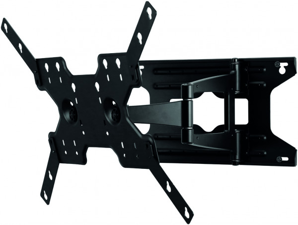 "Peerless Paramount Full Motion Wall  Mount for 37"" to 70"" side view left extended"